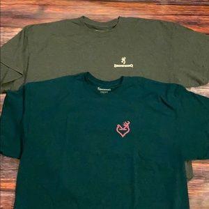 Bundle of Browning tshirts